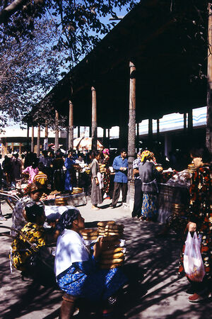 Local market in Samarkand