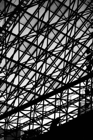 Tangled steel framework