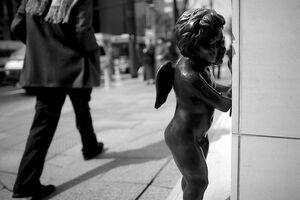 Angel peeping