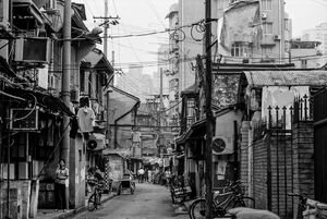 Old fashioned street in Shanghai