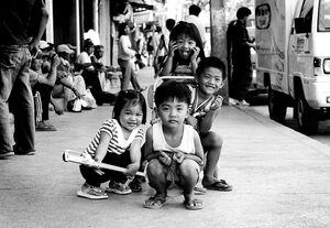 Four children in Bontoc