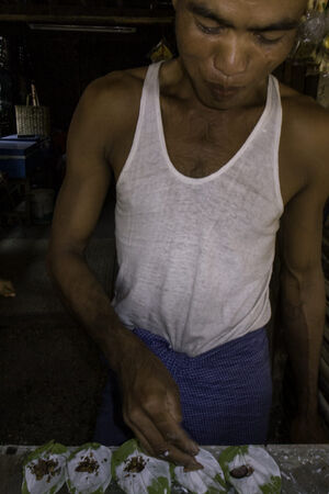 Man making kun