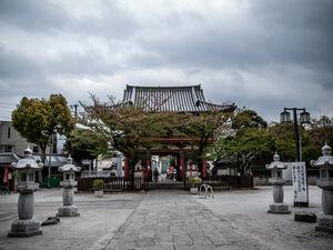 deva gate of Meguro Fudo