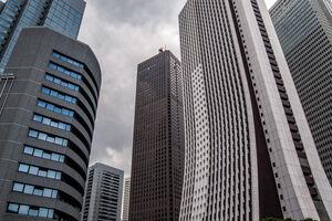 Skyscrapers in West Shinjuku