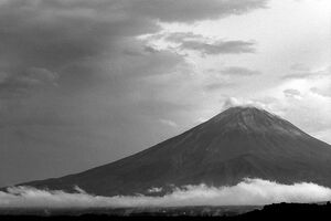 Mt.Fuji and clouds