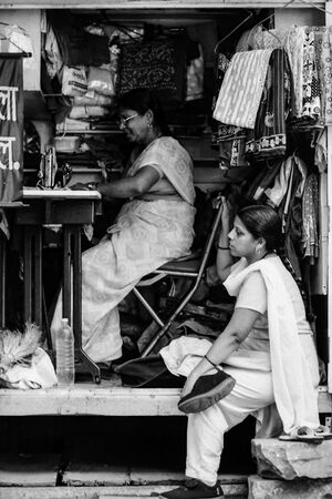 Two women in tailor
