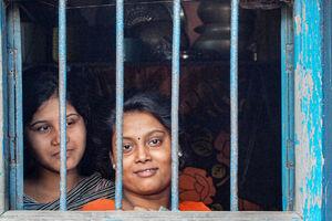 Women by window
