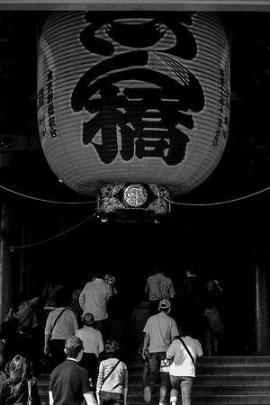 Big lantern in Senso-Ji