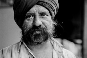 Man wearing turban