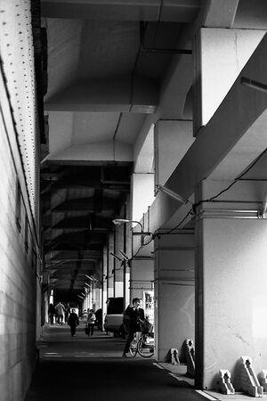 passageway under railway