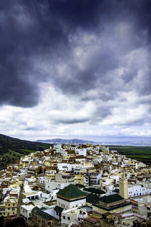 Cityscape of Moulay Idriss