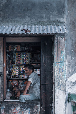 Small shop in Kolkata