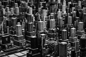 Cemetery in Roppongi
