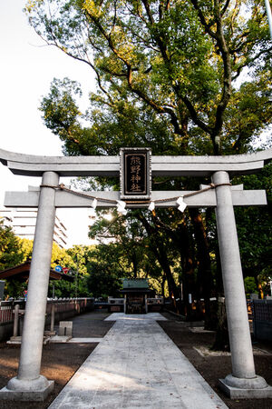 Torii of Kumano Shrine
