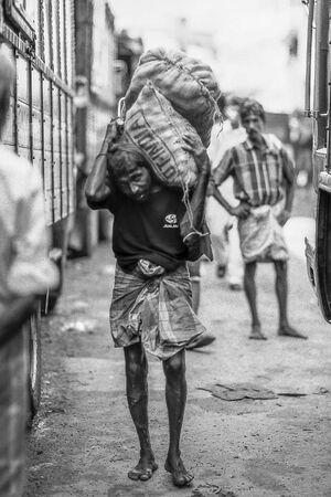 Carrying man