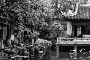 The Nine Lion Study in Yu Garden