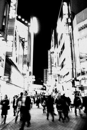 Light in Center Gai street