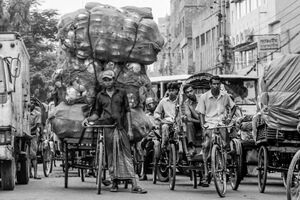 Incredible amount of tod on cycle rickshaw
