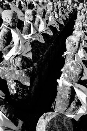 Statues with Jizo