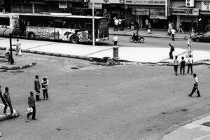 道路の空白地帯