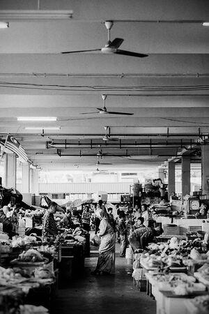 スレンバンの市場