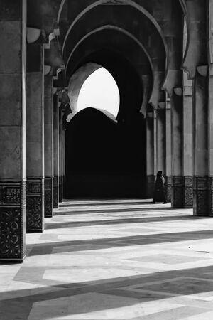 ハッサン2世モスクの柱