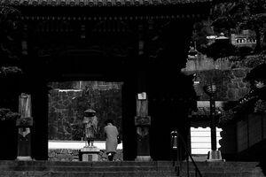 大光寺の門