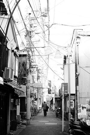 Alleyway in Musashi-Koyama