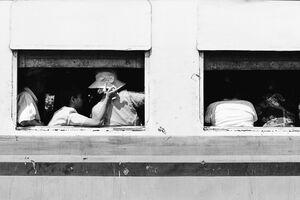 列車の乗客