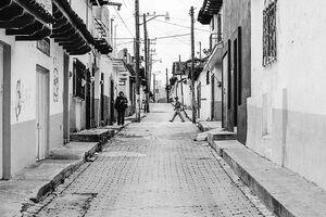 サンクリストバル・デ・ラスカサスの道