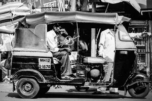 auto rickshaw without driver