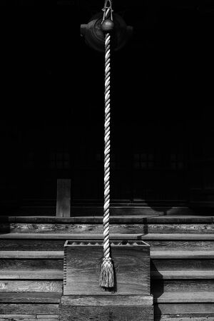A rope in Gyoran-Ji