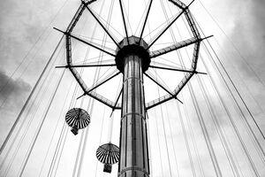 Ride in amusement park