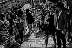 根津神社の縁日にいた人びと