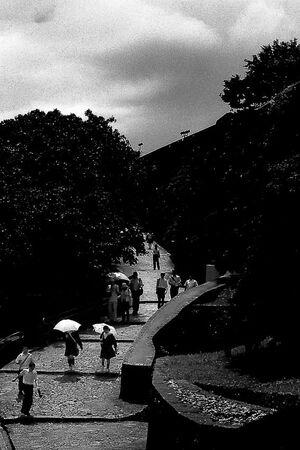 首里城の日傘