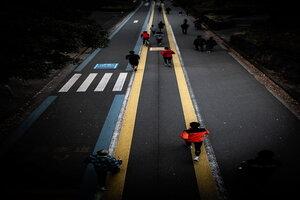 駒沢オリンピック公園のランニングコース