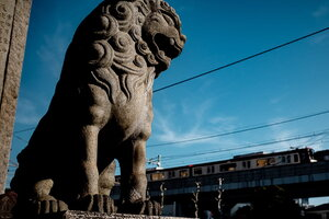 品川神社の狛犬