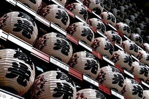 徳大寺の提灯