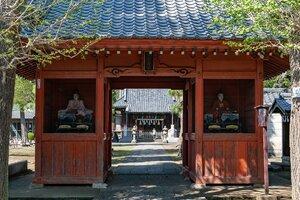 Zuishinmon Gate of Akatsuka Suwa Shrine