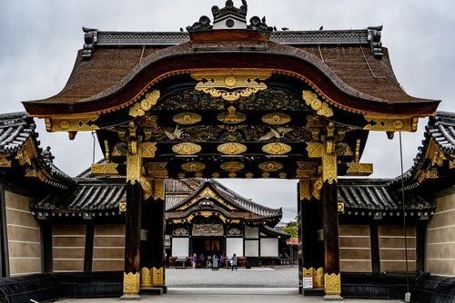 Karamon Gate of Nijo Castle