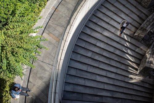 Sunken Garden in Tokyo Opera City