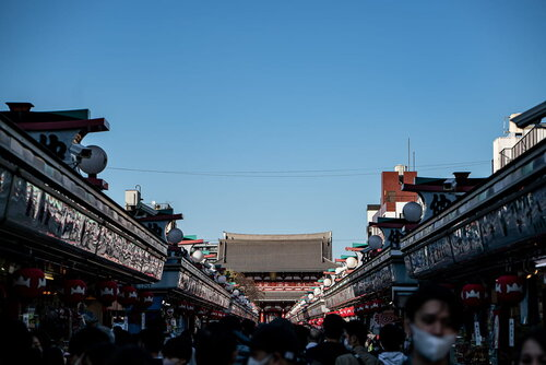 Nakamise of Senso-ji