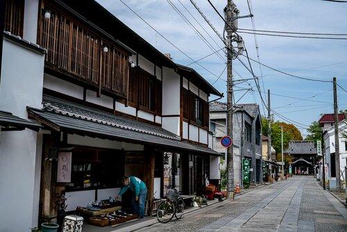 Deserted Dainichi-Daimon Street