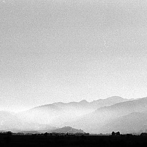 ムアンシンから見える山々