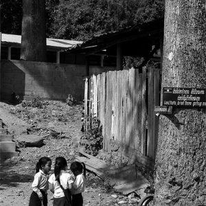 Three girls wearing Sinh