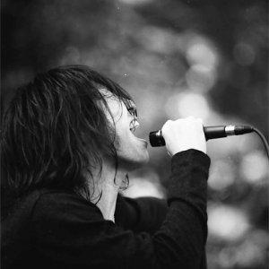 Man singing powerfully