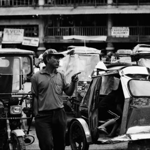 Driver of tricycle