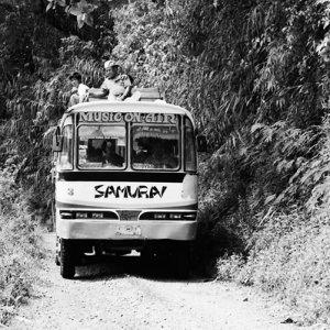 Bus with SAMURAI written on it