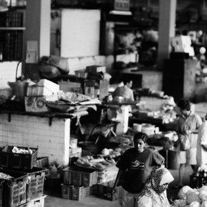 スレンバンの市場のお店