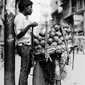 Mango seller by roadside